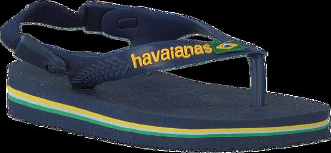HAVAIANAS Tongs BABY BRASIL LOGO en bleu - large