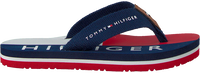 Blauwe TOMMY HILFIGER Slippers FLAG PRINT FLIP FLOP  - medium