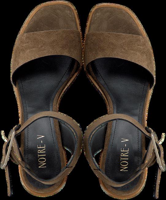 NOTRE-V Sandales B4160 en gris  - large