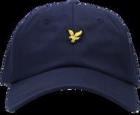 Blauwe LYLE & SCOTT Pet BASEBALL CAP  - medium