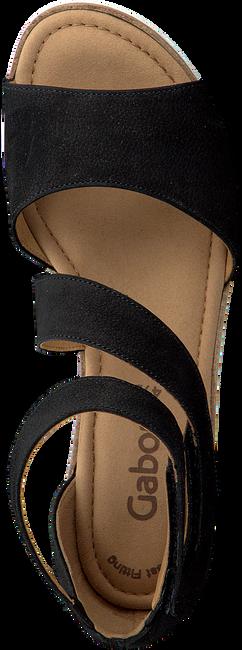GABOR Sandales 582 en noir - large