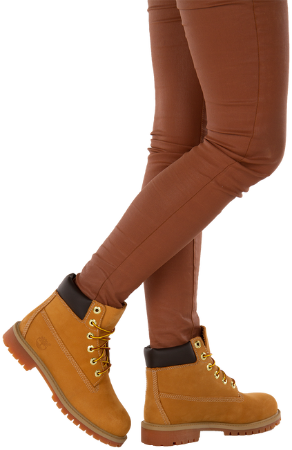 TIMBERLAND Bottillons 6IN PREM RUST en camel - large