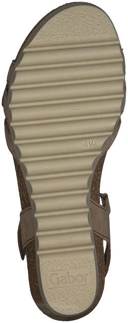 GABOR Sandales 661.1 en marron  - large