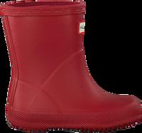 Rode HUNTER Regenlaarzen KIDS FIRST CLASSIC - medium