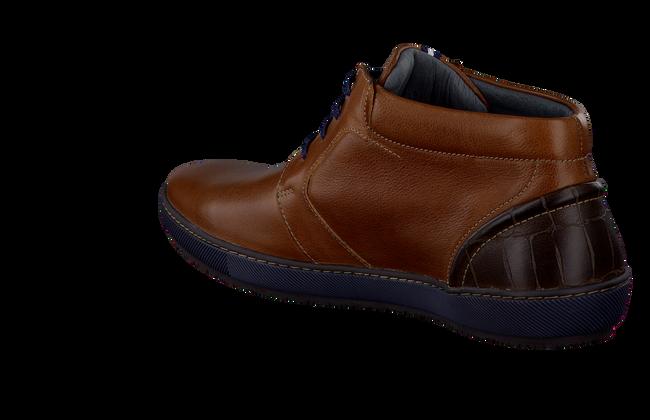 FLORIS VAN BOMMEL Chaussures à lacets 10560 en cognac - large
