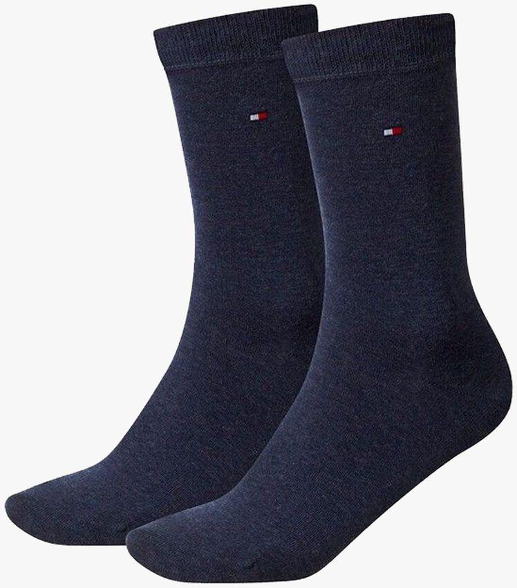 Blauwe TOMMY HILFIGER Sokken TH CHILDREN SOCK TH BASIC 2P - larger