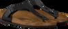 Zwarte BIRKENSTOCK PAPILLIO Slippers GIZEH  - small