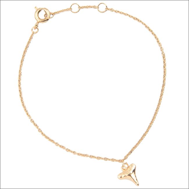 ALLTHELUCKINTHEWORLD Bracelet SOUVENIR BRACELET TOOTH en or - large