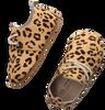 Cognac LITTLE INDIANS Babyschoenen OXFORD BOOTIES LEOPARD - small
