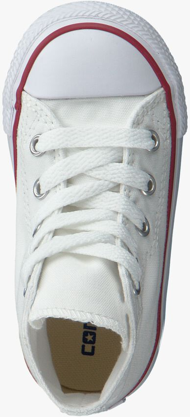 Witte CONVERSE Sneakers CHUCK TAYLOR ALL STAR HIGH KIDS - larger