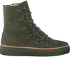 BLACKSTONE Bottines à lacets OL26 en vert - small