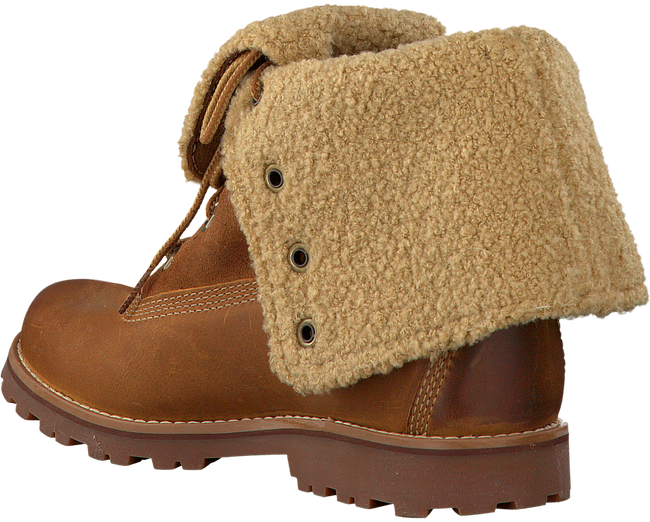 TIMBERLAND Bottillons 6IN WP SHEARLING BOOT en cognac - large