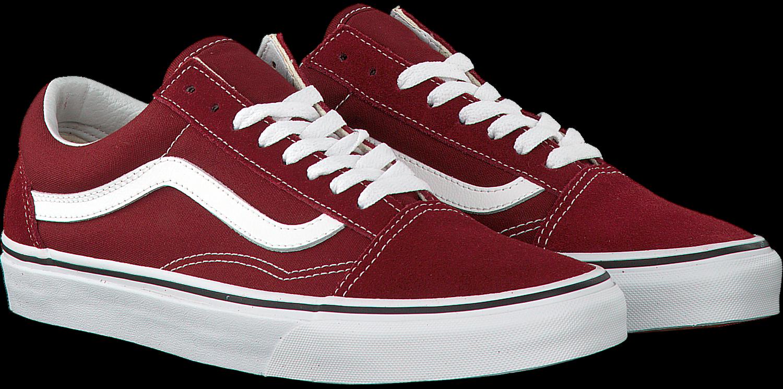 Rode VANS Sneakers OLD SKOOL MEN