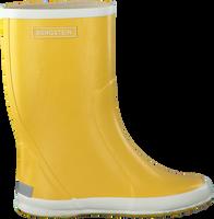 BERGSTEIN Bottes en caoutchouc RAINBOOT en jaune - medium