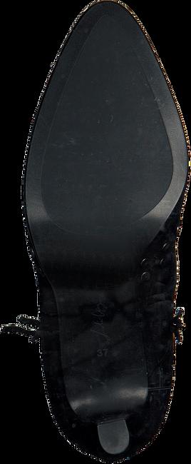Zwarte LOLA CRUZ Enkellaarsjes BOTIN T.85 EN ANTE CON REMACHE  - large