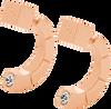 TOV Boucles d'oreilles 1795 en or - small