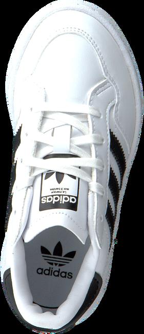 ADIDAS Baskets basses TEAM COURT C en blanc  - large