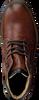 OMODA Bottines à lacets 660066 en cognac - small