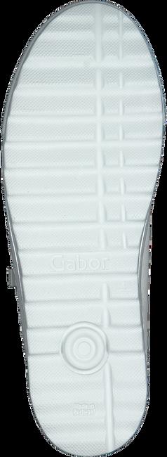 GABOR Baskets basses 498 en blanc  - large