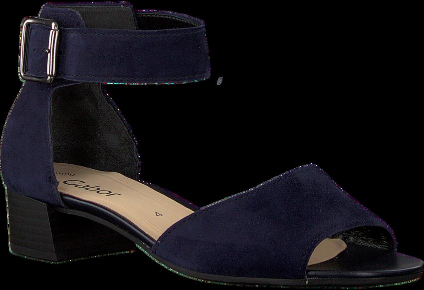 GABOR Sandales 723 en bleu - larger