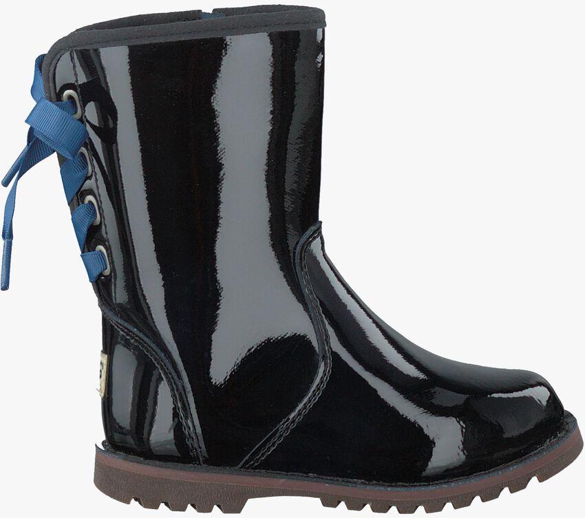 Zwarte UGG Lange laarzen CORENE PATENT  - larger