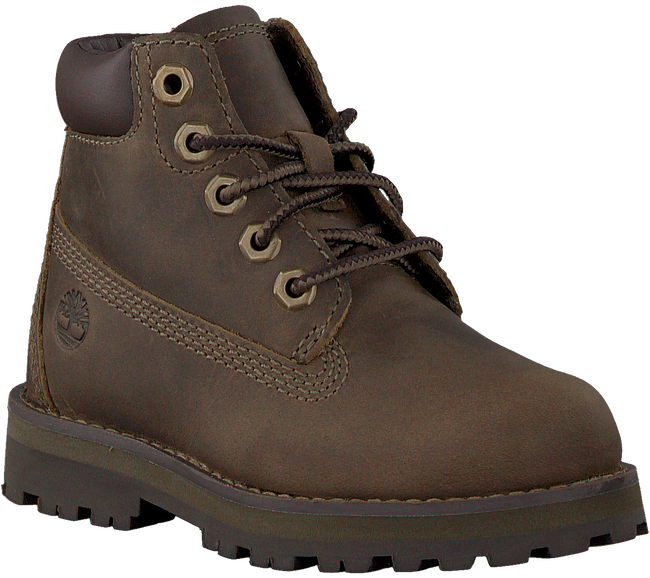 TIMBERLAND Bottines à lacets COURMA KID TRADITIONAL 6 INCH en marron  - large