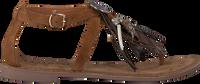 LAZAMANI Sandales 75.540 en marron  - medium