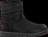 Zwarte GIGA Enkellaarsjes 8704  - medium