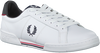 Witte FRED PERRY Lage sneakers B6202  - small