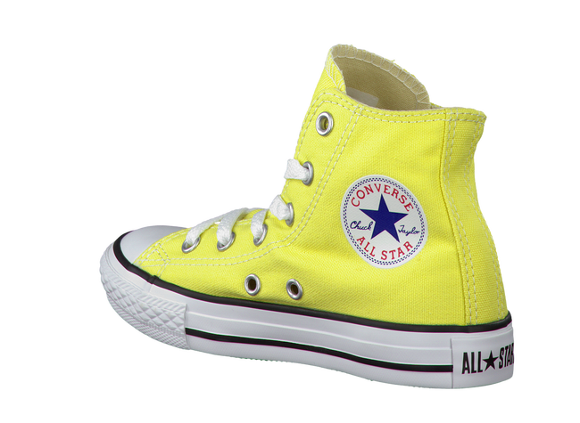 CONVERSE Baskets AS SEAS. HI KIDS en jaune - large