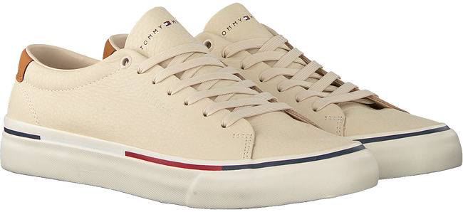 Beige TOMMY HILFIGER Lage sneakers CORPORATE  - large