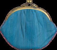 Blauwe BECKSONDERGAARD Portemonnee GRANNY RAINBOW - medium