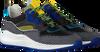 Zwarte FLORIS VAN BOMMEL Lage sneakers 16268  - small