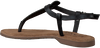 LAZAMANI Sandales 75.422 en noir - small