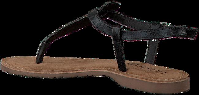LAZAMANI Sandales 75.422 en noir - large