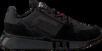 Zwarte RED-RAG Lage sneakers 13215  - medium