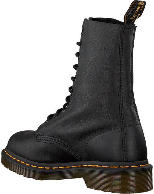 DR MARTENS Bottines à lacets 1490 en noir - large