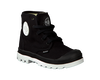 PALLADIUM Bottillons PAMPA HI LACE K en noir - small