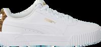 Witte PUMA Lage sneakers CARINA LEO H  - medium