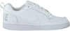 NIKE Baskets COURT BOROUGH LOW (KIDS) en blanc - small