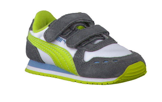 grey PUMA shoe 350659  - large