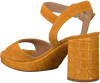 UNISA Sandales OMERCI en jaune  - small