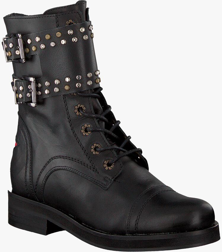 DEABUSED Biker boots HOLLY BIKER en noir - larger