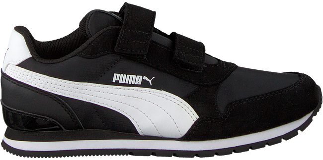 PUMA Baskets ST.RUNNER JR en noir - large