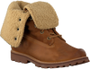 Cognac TIMBERLAND Enkelboots 6IN WP SHEARLING BOOT  - small