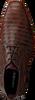 REHAB Richelieus GREG SNAKE STRIPES en marron - small