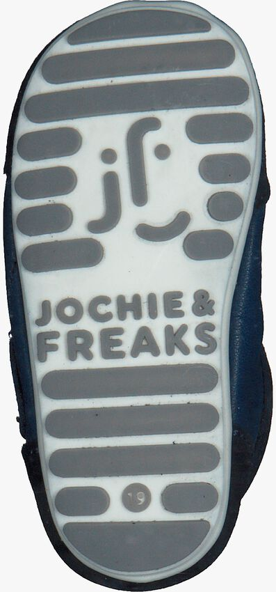 JOCHIE & FREAKS Chaussures bébé 18060 en bleu - larger