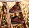 FLORIS VAN BOMMEL Baskets 16277 en cognac  - small