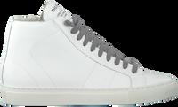 Witte P448 Hoge sneaker STAR WOMAN  - medium