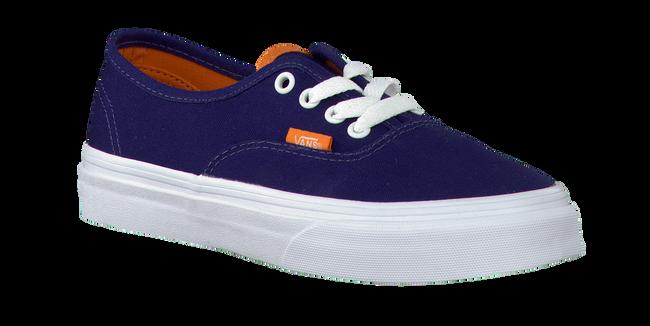 Blauwe VANS Sneakers K AUTHENTIC  - large